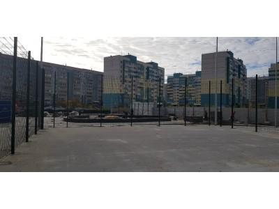 2D забор для спорт площадки